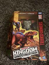 Hasbro Transformers War for Cybertron Kingdom Leader Maximal T-wrecks Figure NEW