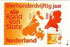 Nederland Maximumkaart(en) R23 W afgestempeld op 1e dag van uitgifte 1981
