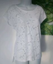 Esprit Top UK Size 8 White Floral