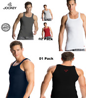 Jockey Men's Square Neck Vest, Cotton Tank Top - Zone - Style- US 26 Pack