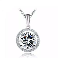 AAA CZ stone pendant necklace for women