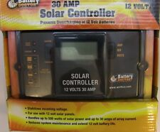 Solar Controller 30 Amp 12 Volt Digital Battery Doctor NEW  23125 FREE SHIPPING