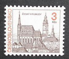 Czechoslovakia (1992) Krumau Castle / Architecture / Buildings  - Mint (MNH)