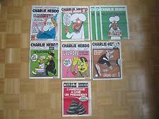CHARLIE HEBDO ORIGINAL IMPRESSION Nº 253, 312, 1011, 1013, 1057, 1177, 1178