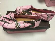 NEW-Realtree APC Pink Camo Slip On Shoes By Mountain Creek Size 5 1/2
