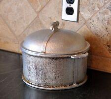 Vtg Guardian Service Hammered Cast Aluminum Round Roaster Dutch Oven w/Lid 4 qt