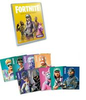 ALL 9 FORTNITE PANINI RARE PROMOTIONAL HOLO FOIL CARDS, P1, P2, P3, With Binder