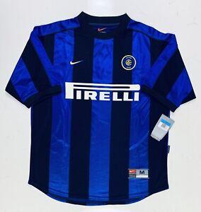 BNWT Inter Milan Home 1999/2000 Nike Pirelli (M)