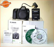Canon EOS 6D FOTOCAMERA REFLEX DIGITALE CORPO, batterie, caricabatterie, software e manuale & box