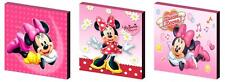MINNIE MOUSE - CANVAS ART BLOCKS/ WALL ART PLAQUES/PICTURES