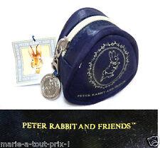 TRES CRAQUANT petit porte-monnaie mini fourre tout lapin PETER RABBIT NEUF !
