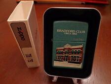 2001 BRADFORD PA BRADFORD CLUB ZIPPO LIGHTER MINT IN BOX 706/750