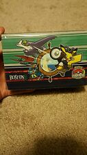 pokemon pikachu double deck box worlds boston 2015 yugioh card tcg case sealed