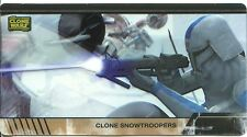 Star Wars Clone Wars Widevision Animation Cel Chase Card #7