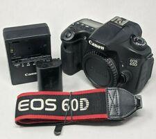 Canon EOS 60D 18.0MP Digital SLR Camera - Black (Body Only)