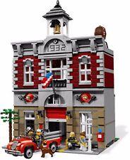 New CUSTOM Set Creator Fire Brigade Compatible With Lego (10197)