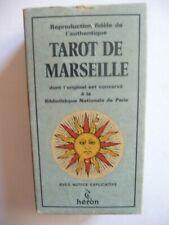 VINTAGE MARSEILLE TAROT Magick Witchcraft Pagan Magic Occult Rune Spells Ouija