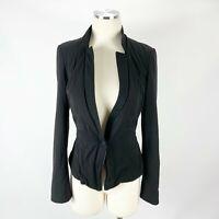 White House Black Market Sz 4 Jacket Blazer Single Button WHBM