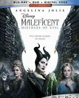 Maleficent: Mistress of Evil (Blu-ray+DVD+Digital Code) NEW* FREE SHIPPING!!!
