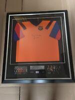 Pep Guardiola – Signed Framed – Barca Shirt – Dream Team - Barcelona
