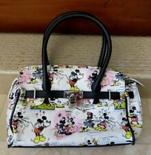 Disneyland Resort Disney Women's Purse Handbag Mickey and Minnie Mouse MINT