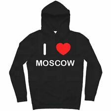 I Love Moscow - Hoodie