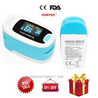 Dito di controllo del sangue Misuratore di ossigeno SPO2 OLED Pulse Heart Rate