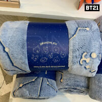 BTS BT21 Official Authentic Goods Blanket Universtar Ver + Tracking Number