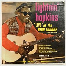 New listing LIGHTNIN' HOPKINS Live At The Bird Lounge LP OWNED BY BILL WYMAN/ ROLLING STONES