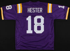 Jacob Hester Signed LSU Tigers Jersey (JSA COA) San Diego Chargers Running Back