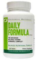Universal Nutrition Daily Formula 100Tabs. Multi Vitamin & Mineral Complex - P&P