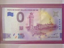 BILLET EURO SOUVENIR 2021-1 PAYS DE SAINT GILLES CROIX DE VIE