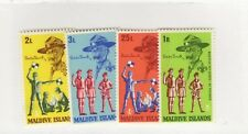 Maldive Islands SC #243-46 MALDIVIAN BOYSCOUTS MNH stamps