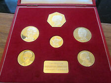 More details for 1972 the royal silver wedding silver proof coin set of 6 coins very scarce
