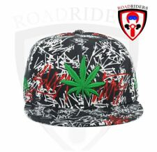 Road Riders Fashionable Snap Back Cap - LEAF