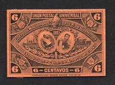 Guatemala 1897 6 centavos stamp MH Proof R!R!R!