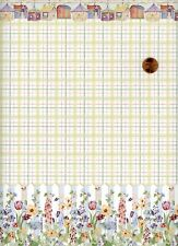 Dollhouse Wallpaper / 3 Sheets of Mini Graphics Picket Fence 219D2