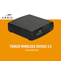 Arris TG862G Wireless Telephony Cable Modem - Not for Comcast Xfinity