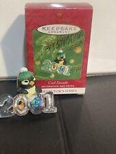 Hallmark Keepsake Ornament 2001 Cool Decade Penguin