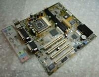 Genuine ASUS MEW-AM REV.1.01 Socket PGA 370 Motherboard with Backplate
