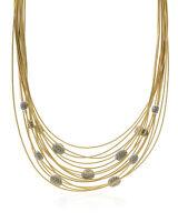 Marco Bicego 18k Yellow Gold Diamond Necklace CG185-B