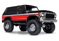 Traxxas TRX-4 1979er Ford Bronco Crawler TQi2.4GHz RTR 1:10 schwarz/rot
