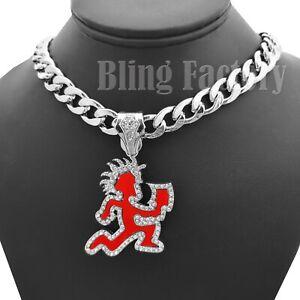 Hatchet necklace.