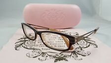 JUICY COUTURE TARA 01S7 Designer Eyeglass Frames 53 [] 15 130 MM BROWN W/CASE