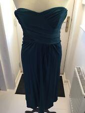 Principles green bandeau dress size 10.