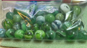 one bag of Old Green Slags