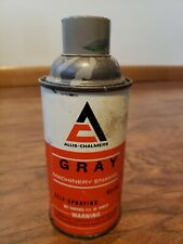 Vintage Allis-Chalmers Gray Machinery Enamel Spray Paint Can
