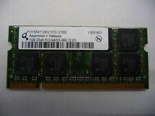 1GB 2Rx8 PC2-6400S-666-12-E0
