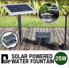 Premium 25W Garden Water Pump with Battery Pond Kit Solar Powered Fountain