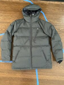 Quiksilver Travis Rice Down Insulated Snowboard Jacket - Gray - Medium